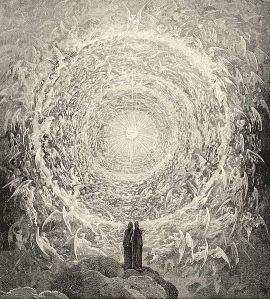 the divine comedy gazing on highest heavens